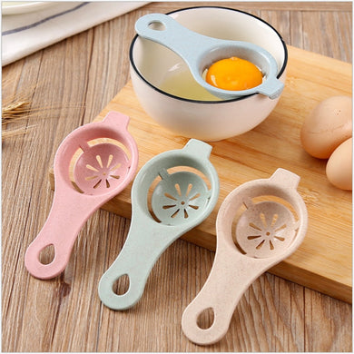 1Pcs Plastic White Yolk Egg