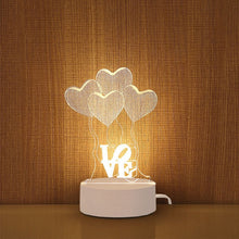 3d Cartoon Table Lamp Novelty Illusion (Free Delivery)