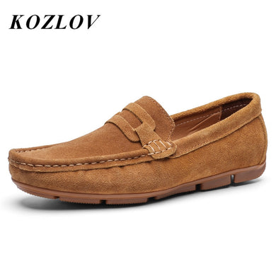 Casual Suede loafers for men
