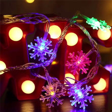 10/20/40 LED Snowflake Light String Twinkle Garlands (Free Delivery)
