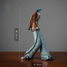 Rock Band Music Art Character Model Statue (Free Delivery)