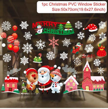 Christmas Wall/Window/Glass Stickers (Free Delivery)