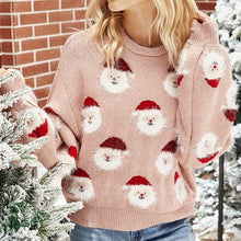Pink Christmas Winter Sweater for Women (Free Delivery)