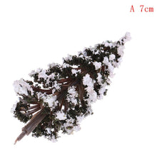 Micro Landscape Accessories Resin Christmas Trees Figures Miniature/Fairy Garden Figurine Dolls House (Free Delivery)