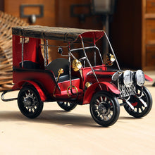 Retro Nostalgia Iron Crafts Metal Antique car model (Free Delivery)