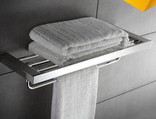 Stainless Steel Bathroom Accessories Set Wall Mount Towel Rack, (Free Delivery)