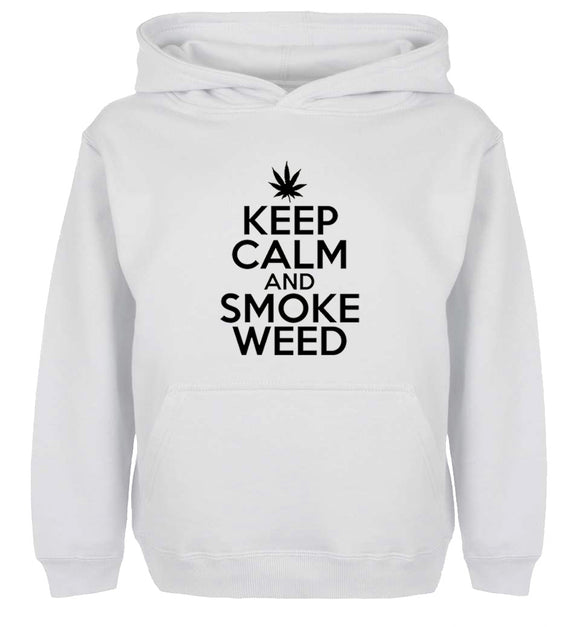 Keep Calm And Smoke Weed Hoodie
