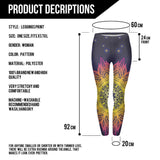 Multi-Colors flower leggings