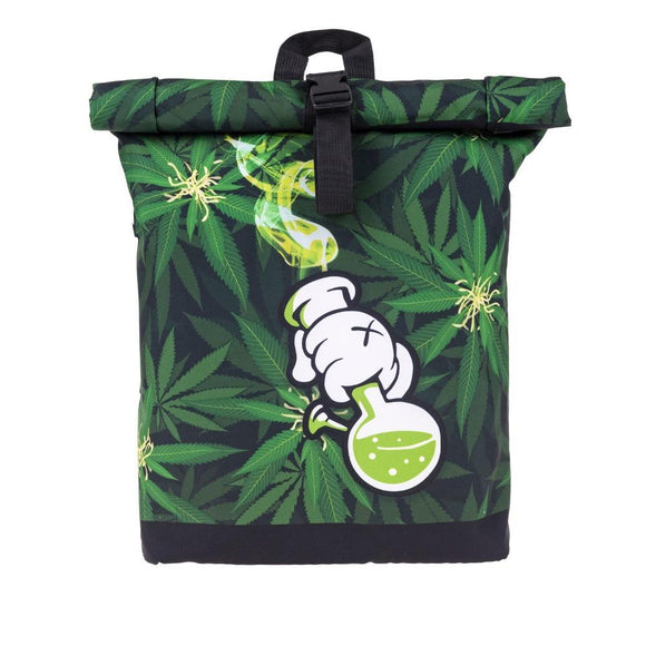 Green Cartoon Bong Bag