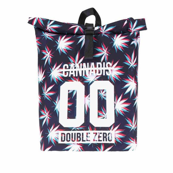 Double Zero Weed 3D Print Backpack