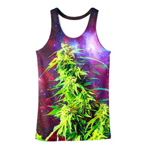 Weed Plant Tank Top