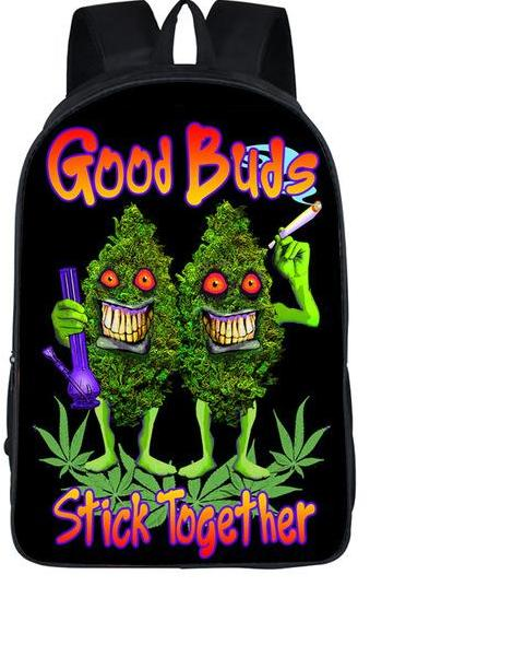 Good Buds Stick Together Backpack - StonerStyle