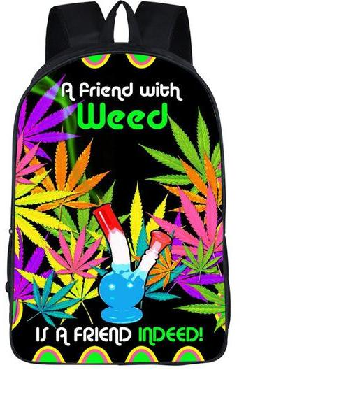A Friend With Weed Backpack - StonerStyle