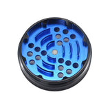 4 Part Blue/Red Ziny Alloy Grinder