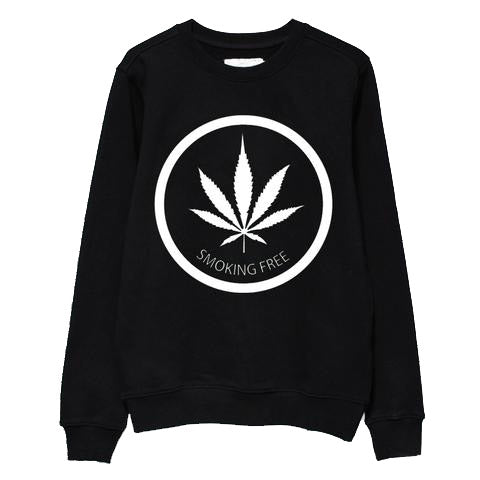 Smoking Free Crewneck