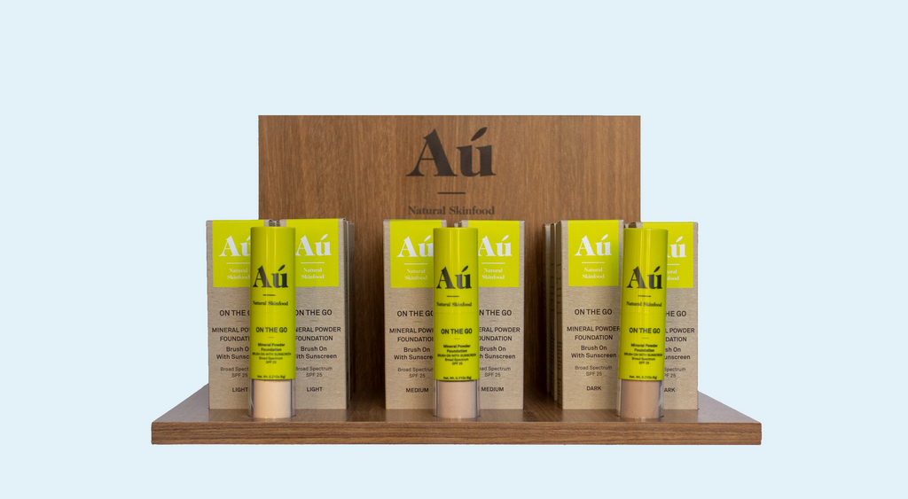 Au Natural Skinfood On The Go Mineral Foundation with Sunscreen Retail