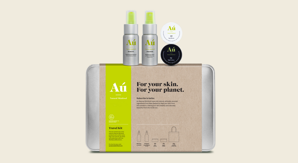 Au Natural Skinfood Travel Kit Retail