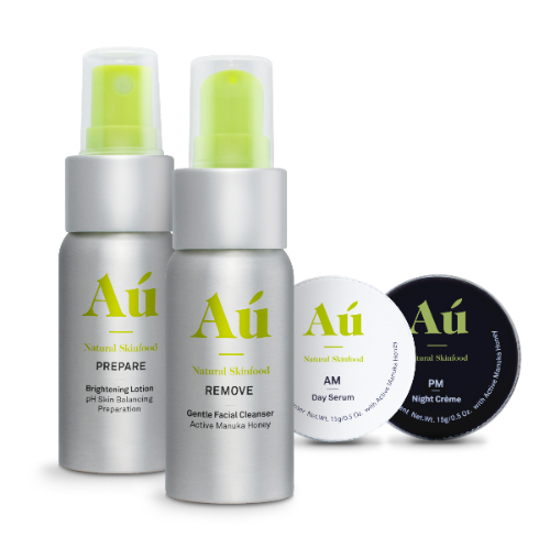 Au Natural Discovery Kit - four natural skincare with Active Manuka Honey