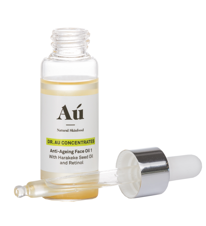 Au Natural Skinfood Anti-Ageing Face Oil with Harakeke Seed Oil