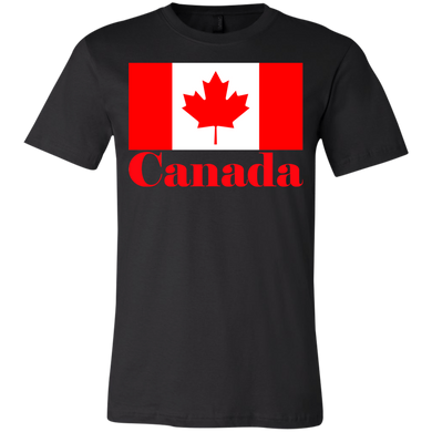 Canadian Flag Youth Short Sleeve T-Shirt