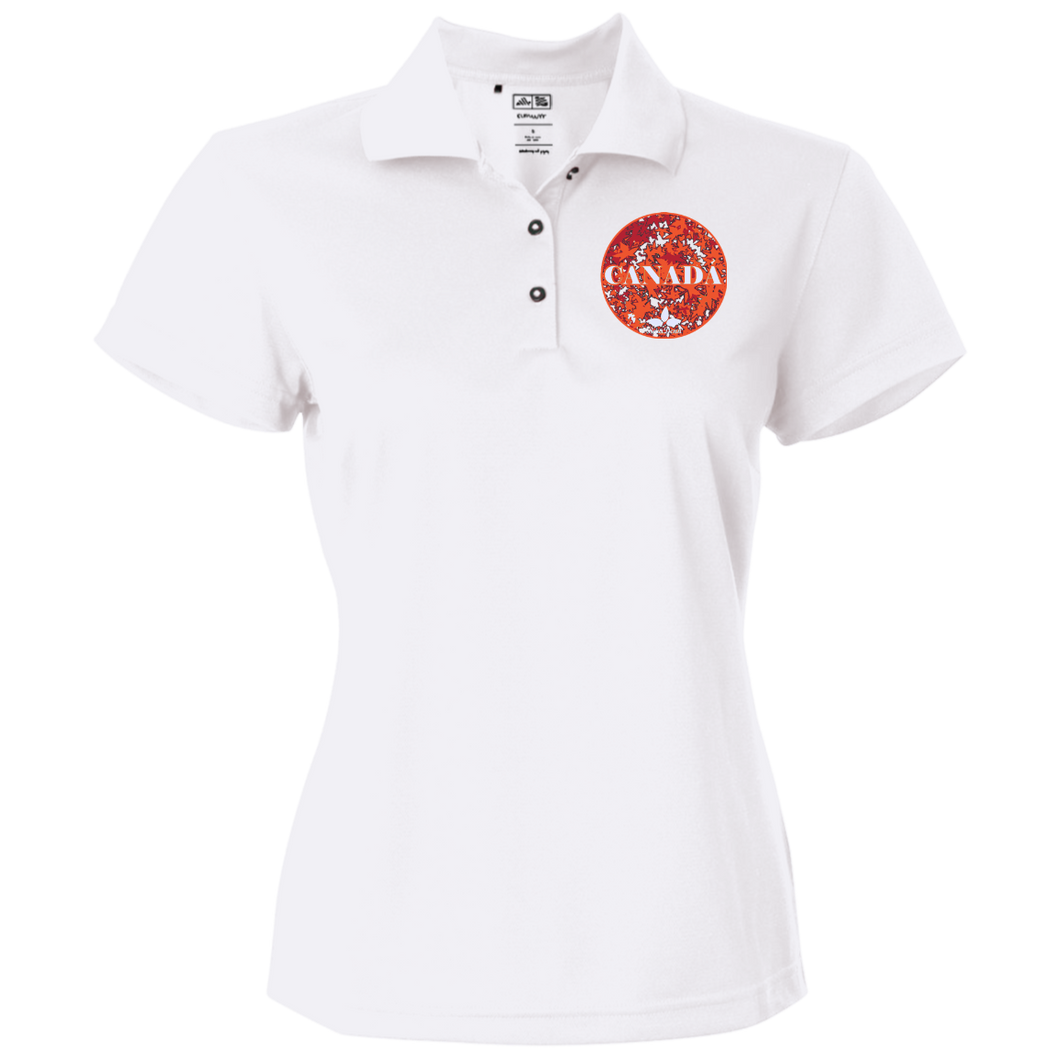 Women's Golf Women's Polo Fall Maple Designs from BwaDenn