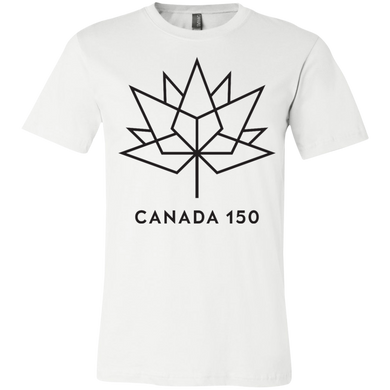 Canada 150 Black Maple Leaf Youth Short Sleeve T-Shirt