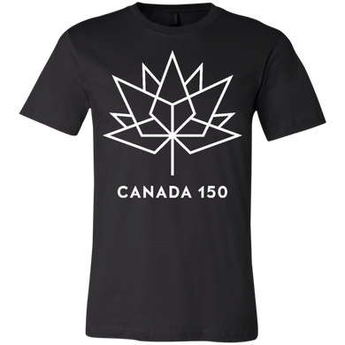 Canada 150 White Maple Leaf Youth Short Sleeve T-Shirt