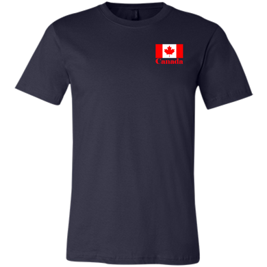 Canadian Flag Youth Short Sleeve T-Shirt (SmallPrint)
