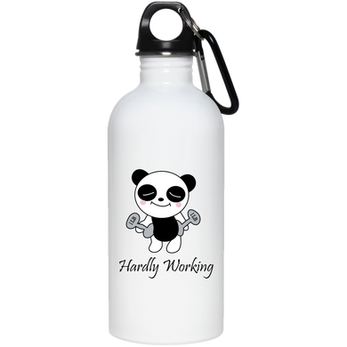Hardly Working 20 oz Stainless Steel Water Bottle