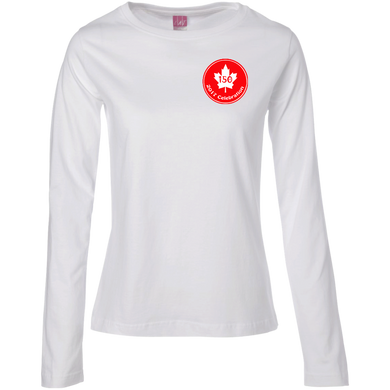 150 Maple Women's Long Sleeve T-Shirt (SmallPrint)