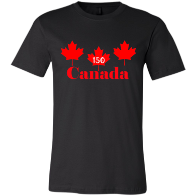 3 Maple Leafs Unisex Short Sleeve T-Shirt