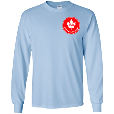 150 Maple Youth Long Sleeve T-Shirt (SmallPrint)