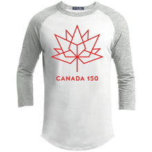 Canada 150 Red Maple Leaf Youth Sporty T-Shirt
