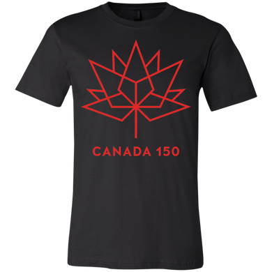 Canada 150 Red Maple Leaf Youth Short Sleeve T-Shirt