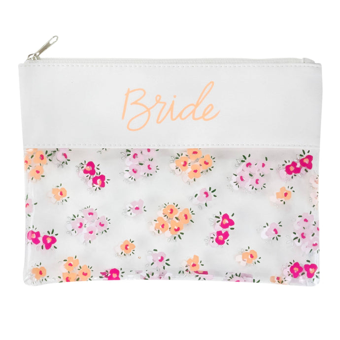 About Face Designs - Bride Cosmetic Bag