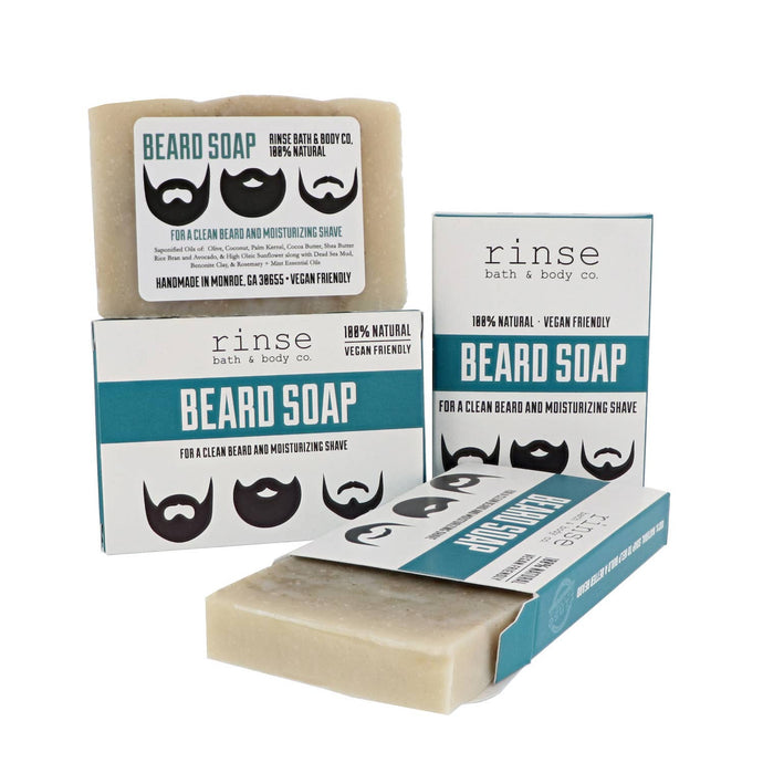 Rinse Bath Body Inc - Mini Soap - Beard Bar Facial