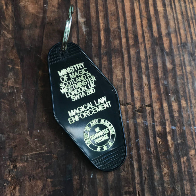 The 3 Sisters Design Co. - Motel Key Fob - Ministry of Magic