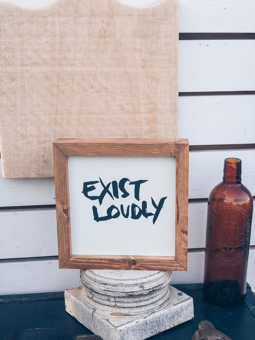 EXIST LOUDLY