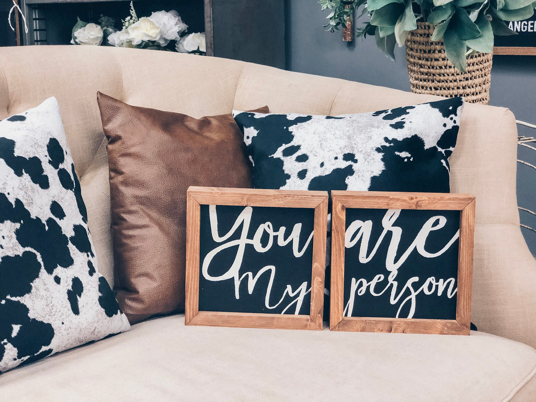 YOU ARE MY PERSON - SET