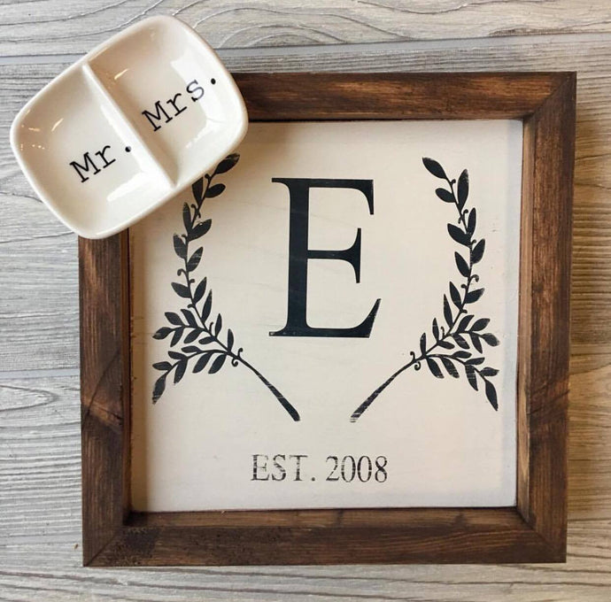 MONOGRAM + RING TRAY BUNDLE