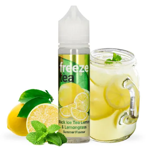 Black Ice tea Lemon High Vaping