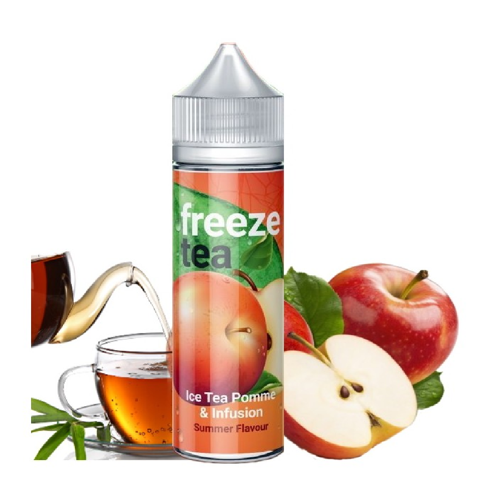 Ice Tea Pomme infusion High Vaping