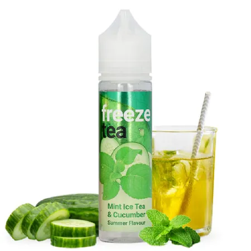 Mint Ice Tea concombre High Vaping