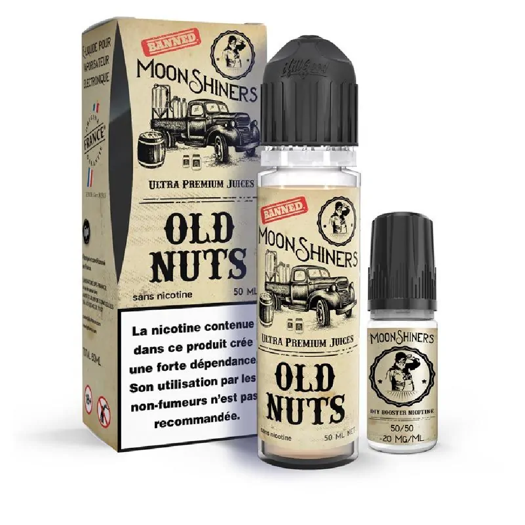 Old nuts Moonshiners High vaping