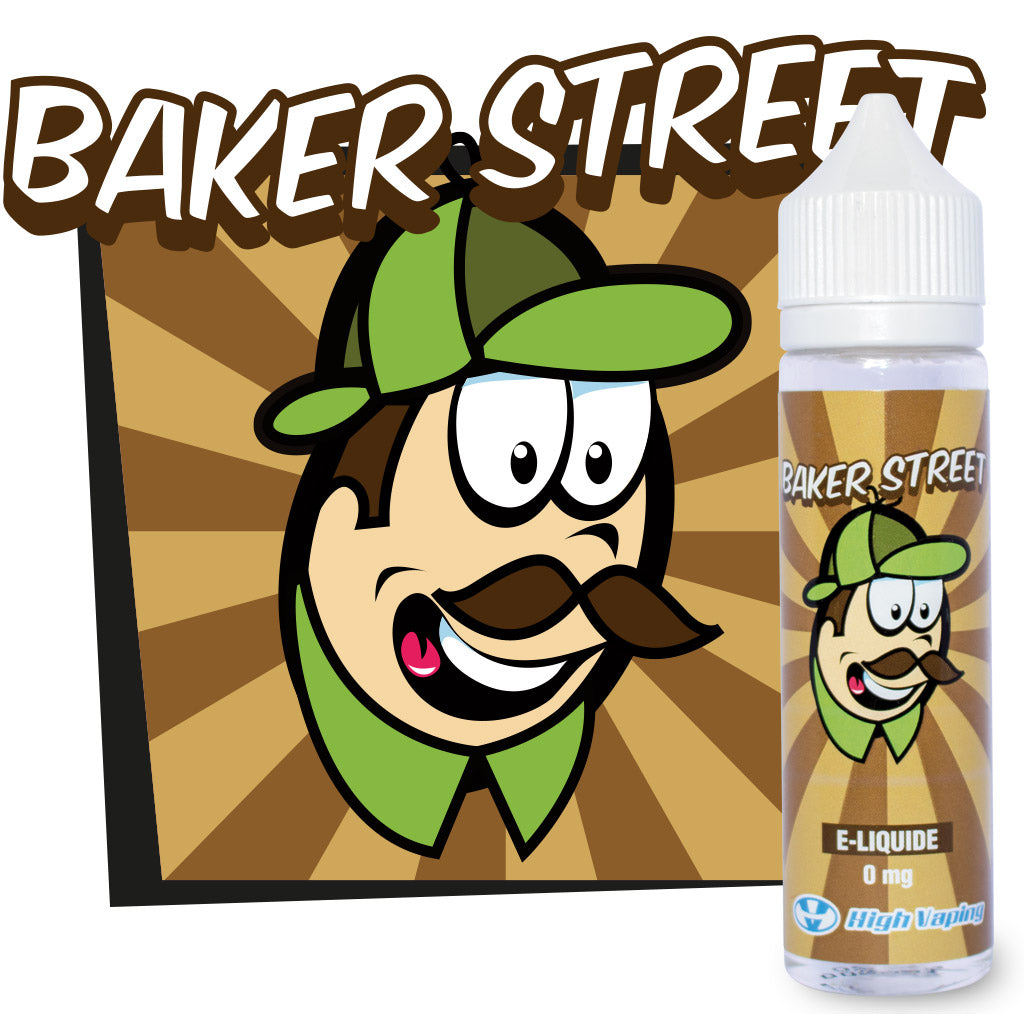 Baker Street 50ml 0mg