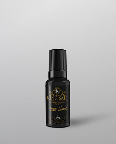 King Salt Classic Blond High Vaping