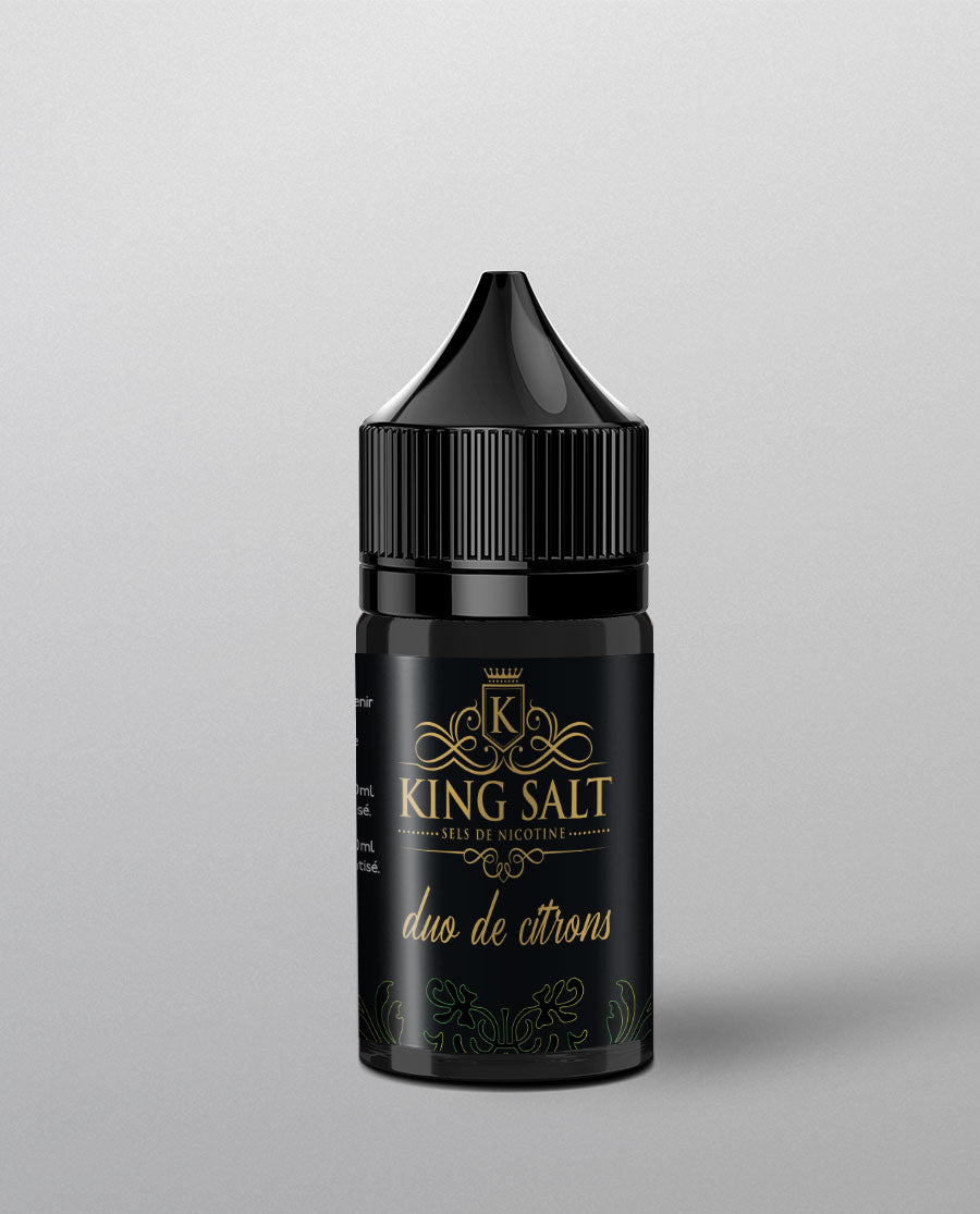 King Salt Duo Citrons 20ml High Vaping
