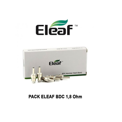 Eleaf BDC High Vaping
