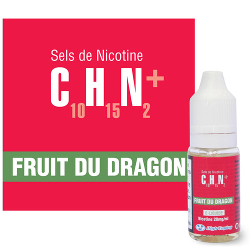 Fruit du Dragon Sels de Nicotine High Vaping