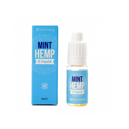 Mint Hemp Harmony High Vaping